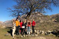 Все участники тура остались под впечатлением от природы Кавказа