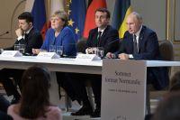 Встреча в«Нормандском формате» вЕлисейском дворце, 9декабря 2019.