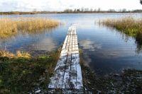 Здесь последний раз видели рыбаков. Озеро Селигер, Тверская область.