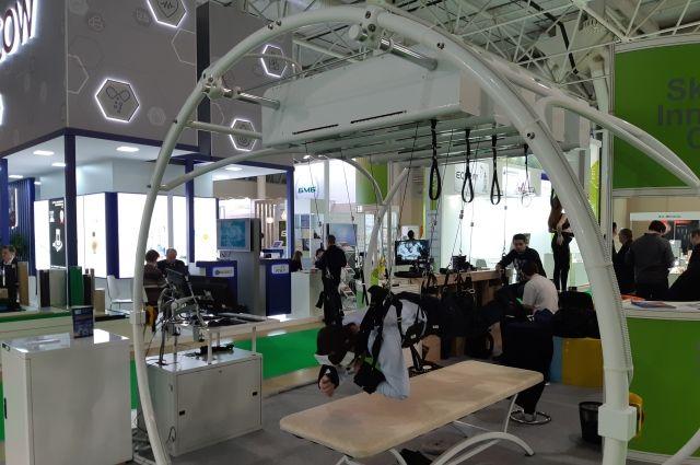 Компания «Крисаф» представила в Москве комплекс для локомоторной терапии