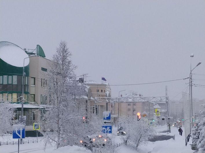 Новогодний Салехард, 2019-2020.