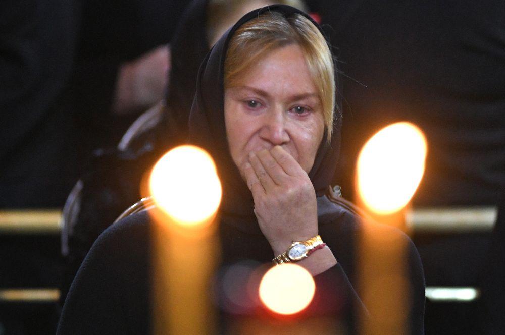 Вдова Юрия Лужкова Елена Батурина.