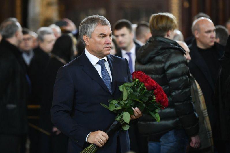 Председатель Государственной Думы РФ Вячеслав Володин.
