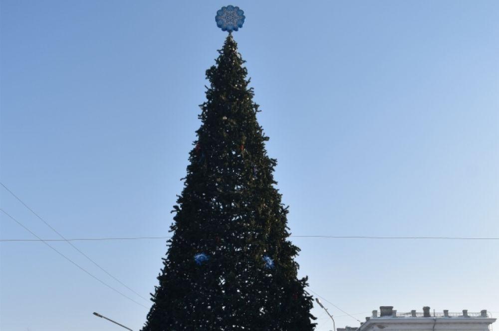 Киселёвск. В районах города, как и в прежние годы, местные власти установят три искусственных и четыре натуральных ёлки. Искусственные были куплены еще в 2011 и в 2013 гг. Высота ёлки в центре города – 16 метров.