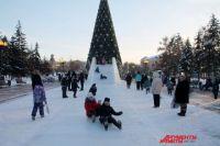 Резиденция Деда Мороза в сквере Кирова начнёт принимать маленьких гостей 21 декабря.