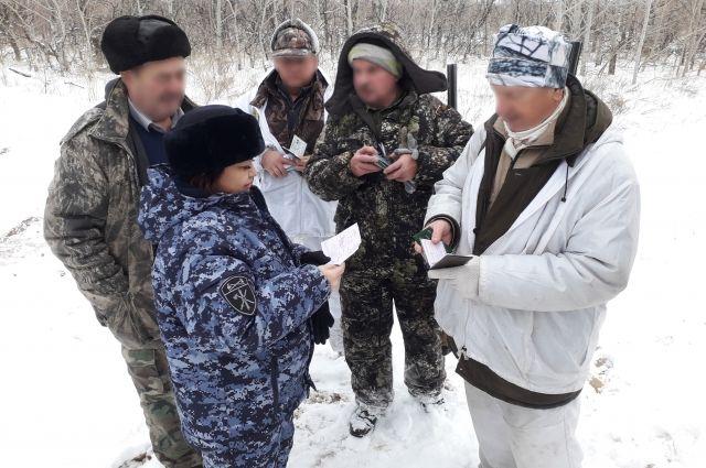Всего было обследовано 17 охотничьих угодий Оренбуржья.