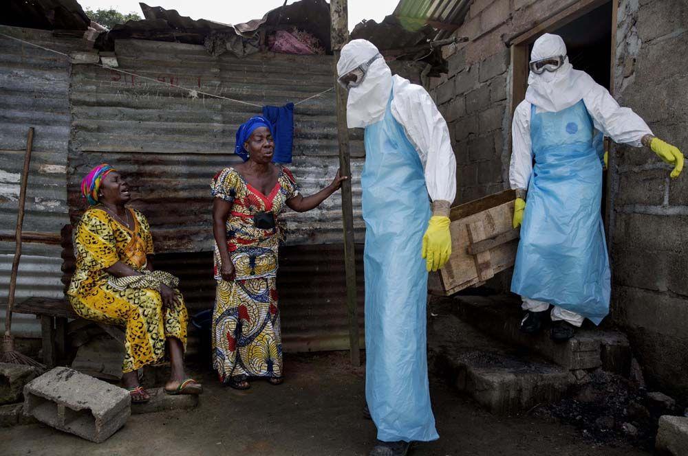 2014 год — борцы с лихорадкой Эбола. Это работники здравоохранения, которые помогли остановить распространение лихорадки во время эпидемии в Западной Африке.