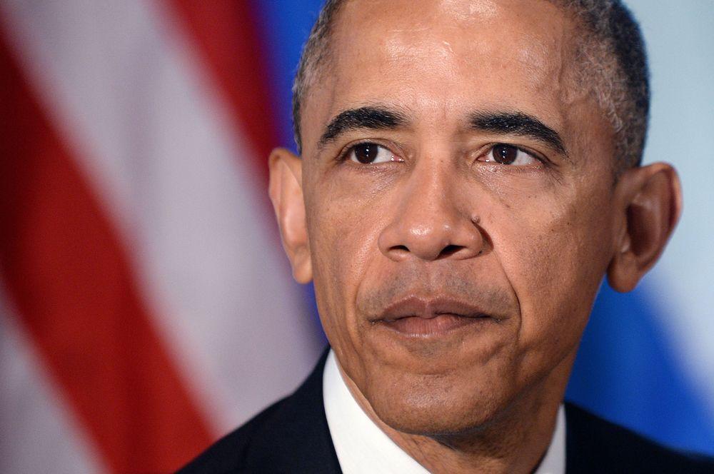 2012 год — Барак Обама, переизбранный президентом США.