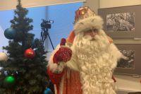 Всероссийский Дед Мороз приехал в Воронеж в рамках четвертого путешествия по городам страны.