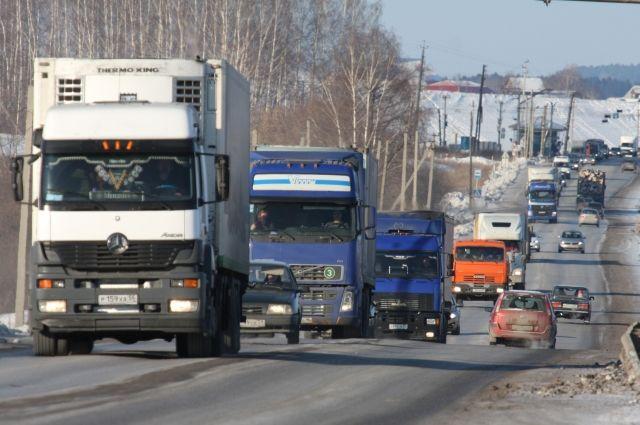 В Украине планируют ограничить движение грузовиков в городах