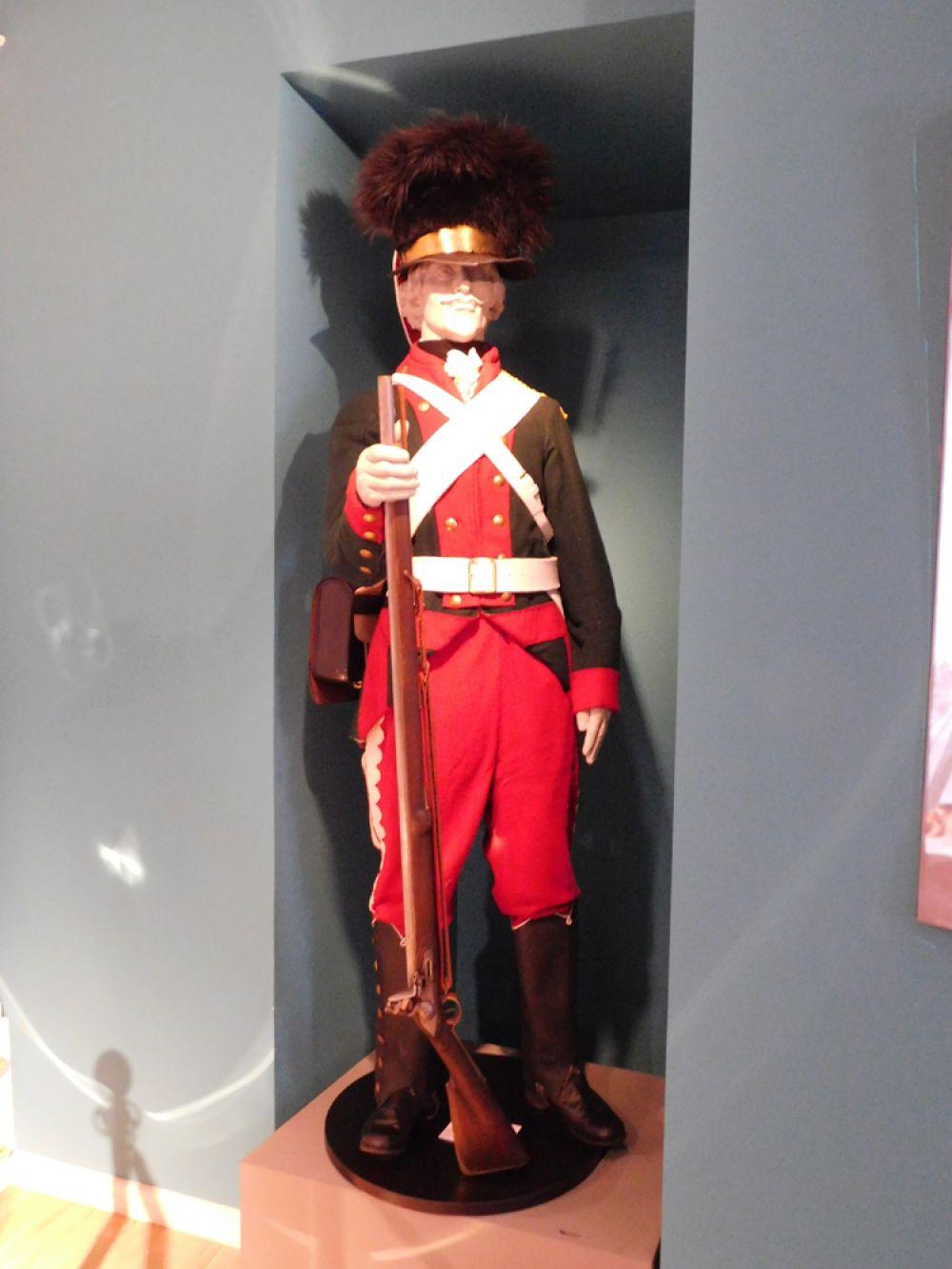 Рядовой мушкетёрских рот Нижегородского пехотного полка. «Потёмкинская» форма 1783-1796 гг. Реконструкция.