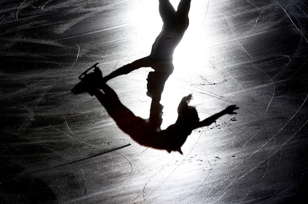 Финал Гран-при по фигурному катанию в Турине, Италия. Выступление россиянки Александры Трусовой.