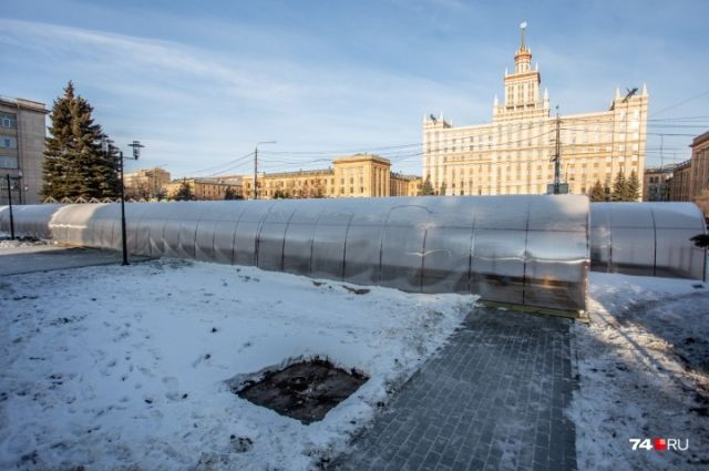 В администрации объяснили появление «теплиц» в центре Челябинска