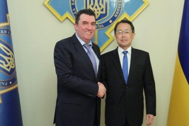 Секретарь СНБО провел встречу с послом Японии: подробности
