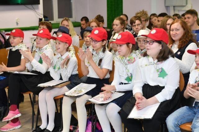 В конкурсе экологических проектов участвовали школьники разного возраста.