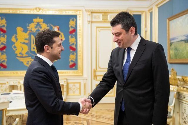 Зеленский провел встречу с премьер-министром Грузии: что известно