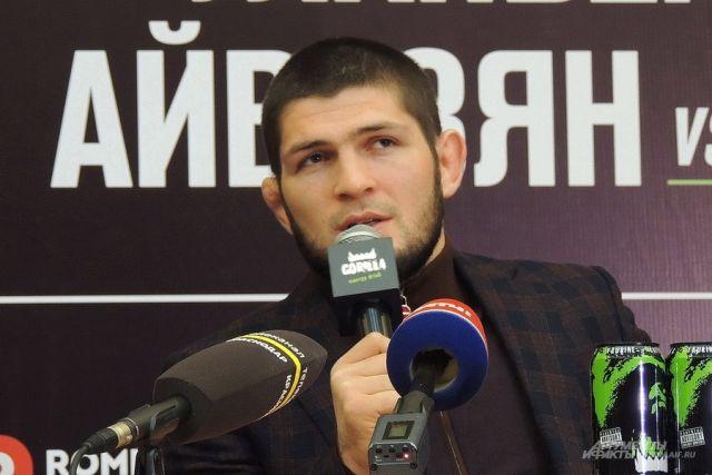 Хабиб Нурмагомедов в Краснодаре.