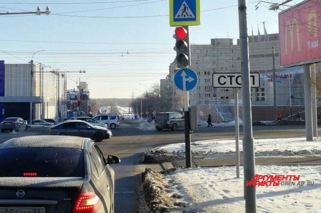 В Оренбурге ул.Уральская работает с нарушениями ГОСТа.