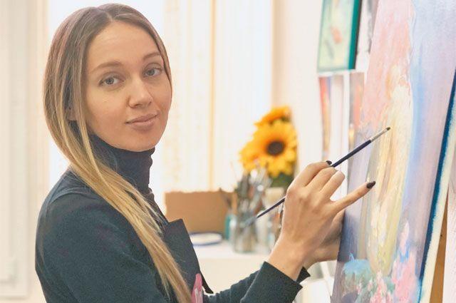 Жительница Хорошёво-Мнёвников, педагог порисованию Надежда Голева учит видеть прекрасное вобыденном.