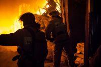 В Тюмени при пожаре в наркодиспансере погиб один человек, пострадали семеро