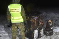 На украинско-польской границе задержали рекордную контрабанду янтаря