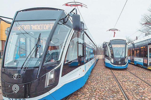 Так выглядят трамваи нового поколения «Витязь-Москва».