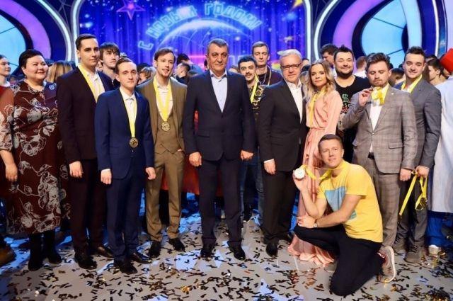 Красноярская команда КВН впервые стала стала чемпионом Высшей лиги