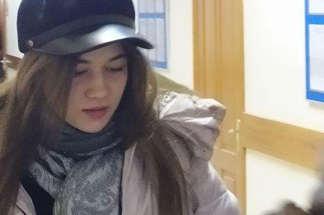 Потерпевшая экс-дознавательница на суде.