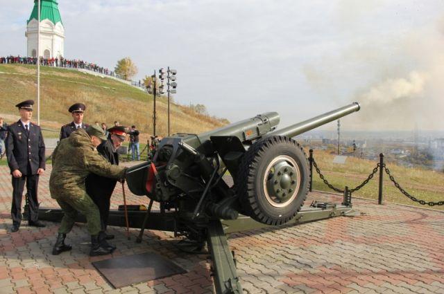 Красноярская «полуденная» пушка дострелялась – её увезли на ремонт