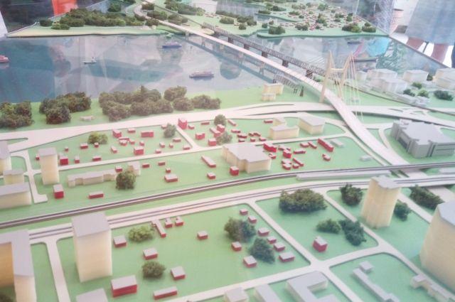 В 2020 году планируют начать подготовку территории для строительства четвертого моста через Обь.