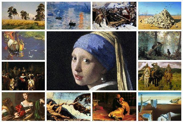 Известные художники и их картины.