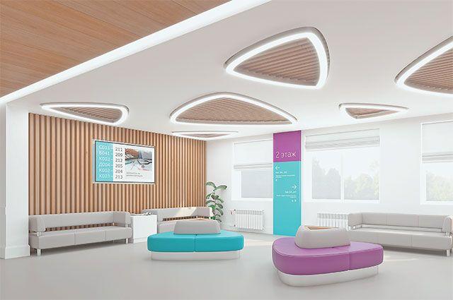 Через 2 года здесь будет поликлиника европейского уровня, оснащённая попоследнему слову медицинской техники.