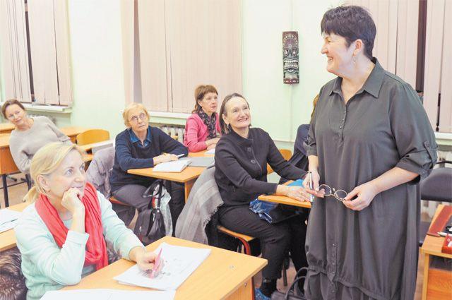 Ольга Блохина сама пришла в школу № 536 и предложила поработать в проекте.