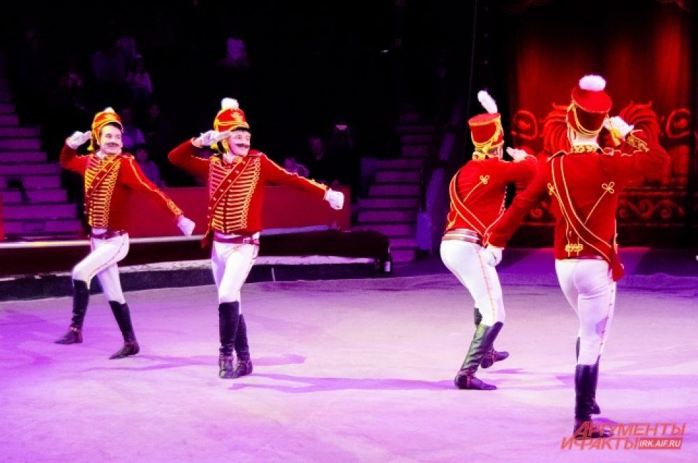 14 декабря на арене Иркутского государственного цирка прошла премьера новогоднего шоу «Белые львы Африки».