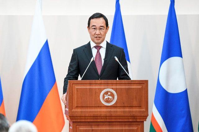 Глава Якутии Айсен Николаев.