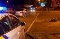 В центре Днепра водитель автомобиль сбил водителя доставки на велосипеде