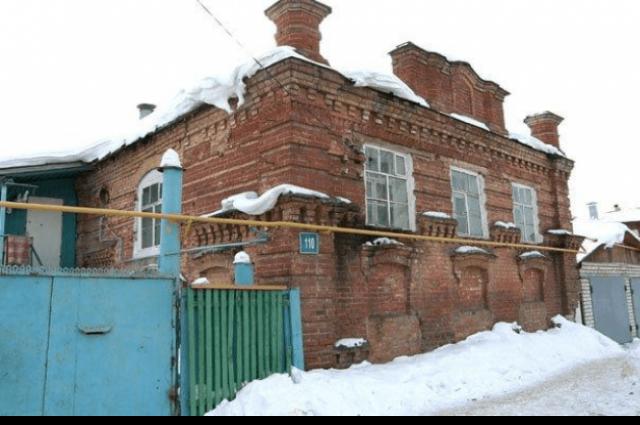 Так выглядел дом на улице Нехаева.