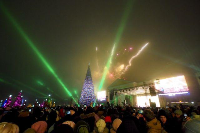 Ставропольская главная ёлка вошла в двадцатку самых высоких в России