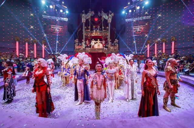 Шоу «Королевский цирк» Гии Эрадзе снова в областной столице.
