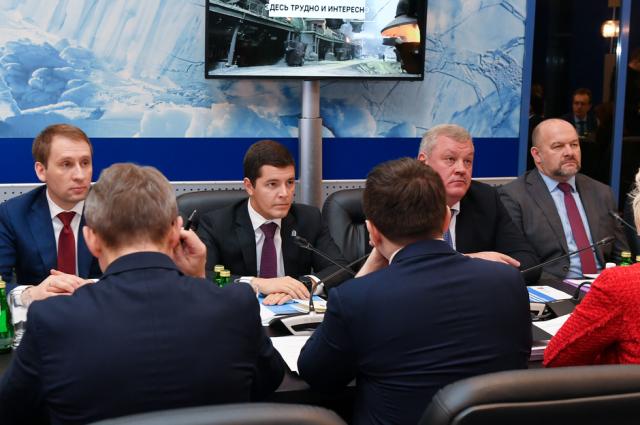 Глава ЯНАО участвовал в заседании Госкомиссии по вопросам развития Арктики