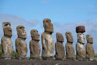 Статуи острова Пасхи.