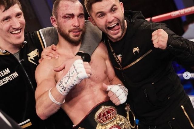 Мечта Александра стать чемпионом по версии WBA World сбылась