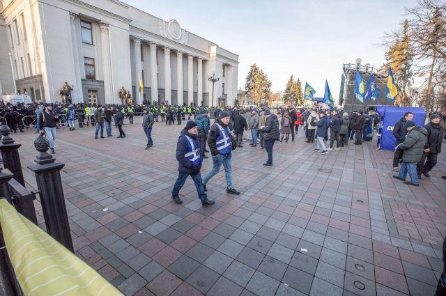 Стычки под Радой: в МВД рассказали о пострадавших