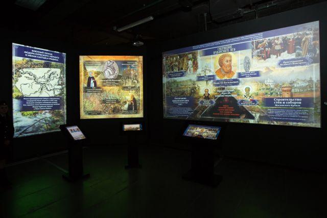 Экспозиции мультимедийного парка в Сургуте