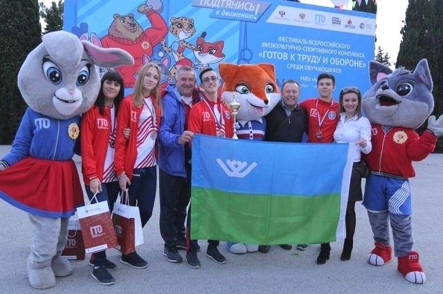 Югорчане – победители соревнований по ГТО