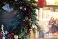 Рождественский венок станет прекрасным украшением вашего дома.