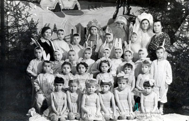 Новогодняя ёлка в детском саду №98. Пермь.