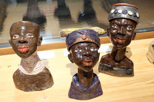 Выставка «Осколки рая» проходит в Доме Боне.