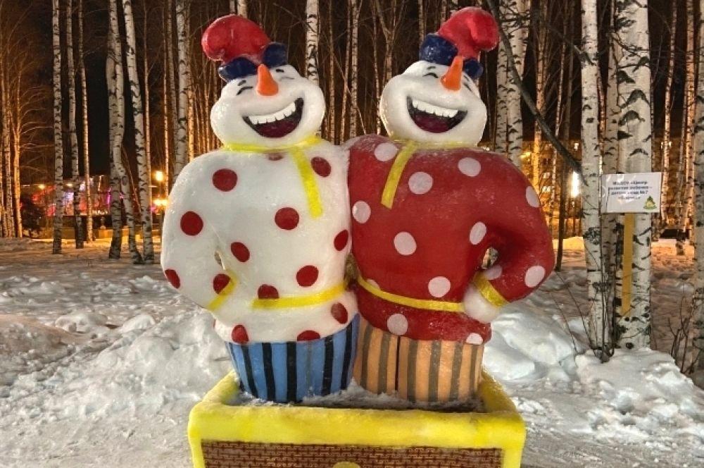 Сам конкурс длился с 8 по 15 декабря, однако снеговики продолжат радовать жителей города до тепла