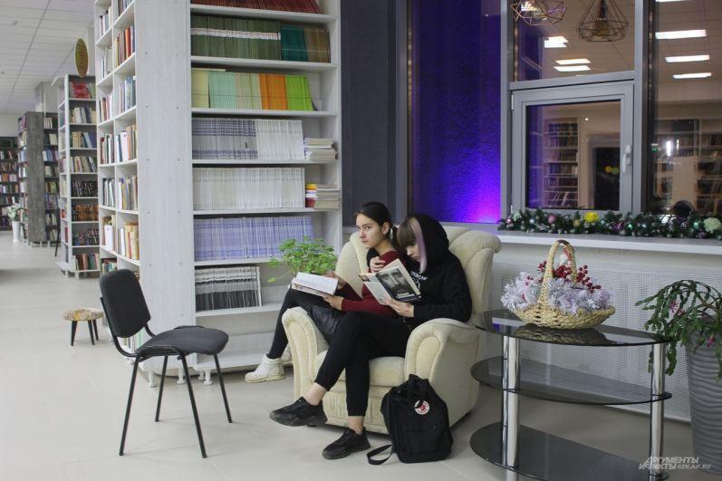 После ремонта библиотека стала более привлекательной для молодежи.
